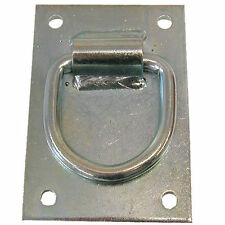 Heavy Duty Cross Tie Ring Plate - Steel Plate  for Stables and Barns
