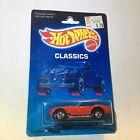 1988 Hot Wheels Classics Card Red Classic Cobra Blackwalls Malaysia Base Vhtf