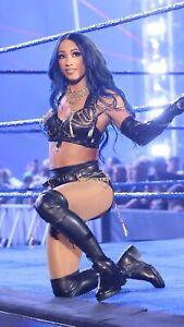 "Sasha Banks Poster Print WWE NXT The Boss WRESTLING SUPERSTAR DIVA 12""x18"""