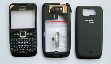 Black Housing fascia facia cover case faceplate for nokia e63 w/ keypad  -094286