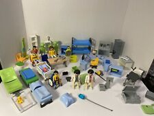 Mixed Lot.  1990s Play Mobil Nurses And Medical, Surgical, Hospital And Jail