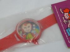 Vintage 1960s Fair Carnival Prize Toy Red Cowboy Watch Rolling Balls Puzzle Game