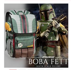 Mandalorian Star Wars Boba Fett Costume Backpack Laptop Bag School Travel Bag