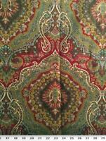 """Waverly Cacharel Lacquer 100% Cotton Drapery Fabric 54"""" Wide By The Yard"""