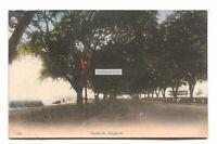 Singapore - Esplanade - old postcard