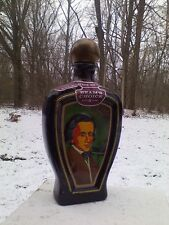 Jim Beam Chopin Decanter Vintage Edward Weiss Bottle Empty Decanters Collectible