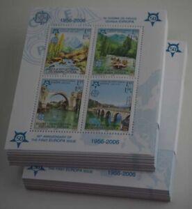2005 Bo-He Serbische Republik; 200 Blocks Europa, **/MNH, Bl. 13 A, ME 2200,-