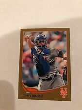2013 Topps Mini Gold John Buck #476 Rare Card  S/N 17/62. New York Mets