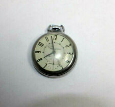 Ingraham Autocrat Pocket Watch WORKING Vintage