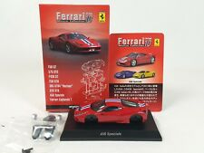 1:64 Kyosho Ferrari Minicar Collection 10 458 Speciale 2013 Red/Silver Wheels