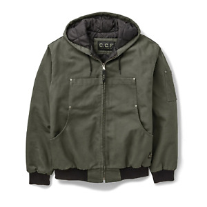 Filson CCF Hooded Utility Jacket Cannonball Green