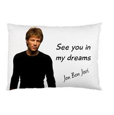 JON BON JOVI See you in my dreams bed pillow cushion case 95019808