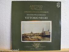 VITTORIO NEGRI * Vivaldi * Concerti Con Molti Stromenti * Staatskapelle Dresden
