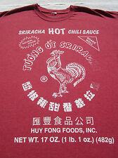 SRIRACHA HOT CHILI SAUCA size 2XL T-SHIRT xxl