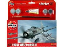 AIRFIX® 1:72 FOCKE - WULF FW190A-8 MODEL AIRCRAFT KIT WW2 PLANE SET A55110
