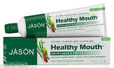 Jason sano BOCCA ANTI-PLACCA & tartaro controllo TEA TREE OIL Dentifricio 119g