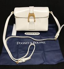 Dooney & Bourke White Patent Leather Kyra Crossbody A351975