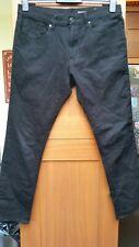 """Mens Black Skinny Stretch Jeans in size W34"""" x L30"""" F&F VGC"""