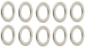 (10)New 18mm Transmission Oil Drain Plug Washers 90471-PX4-000 Fits Honda& Acura