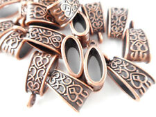 Antique Copper 18mm Decorative Bail Findings • Q20 • 66283