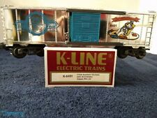 K-Line Electric Trains K-6491 TTOS Southern Division 25th Anniversary Box Car **