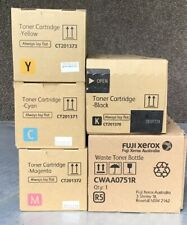 Fuji Xerox Toner CT201370 CT201371 CT201372 CT201373 plus Waste Toner2270 2275