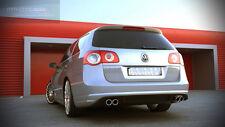Heckansatz für VW Passat B6 R Line R36 3C Heck Ansatz Schürze Diffusor Duplex