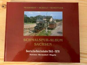 Schmalspur-Album Sachsen Neichen-Wermsdorf-Mügeln, Neidhardt, Scholz, Scheffler