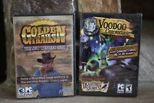 Voodoo Chronicles First Sign Sammler & Golden Trails Western Rush PC CD ROM