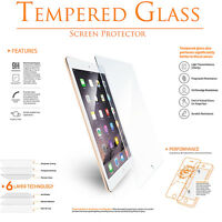 (5 Pack) Tempered GLASS Screen Protector for Apple iPad Air Pro 9.7 5th 6th Gen