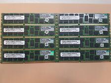 64GB 8x8GB Server RAM DIMM Micron HP DDR3 PC3-10600R ECC MT36JSF1G72PZ-1G4M1FE