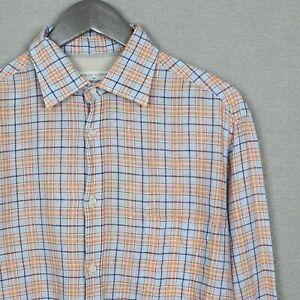 Brunello Cucinelli For Bergdorf Goodman Shirt Linen XL XXL