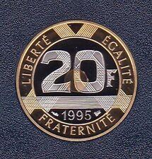 20 FRANCS MONT SAINT MICHEL 1995 DU COFFRET BE