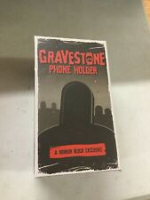 Horror Block Exclusive Gravestone Cell Phone Holder Stand nerd geek  BB