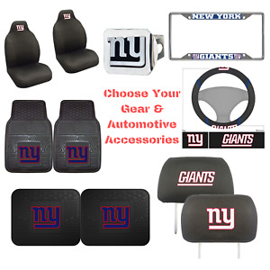 NFL New York Giants Choose Your Gear Auto Accessories Official Licensed
