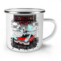 Bonus Stage Fight NEW Enamel Tea Mug 10 oz | Wellcoda