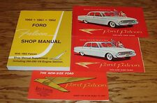 1960 Ford Falcon Shop Service Manual and Sales Brochure Lot 60