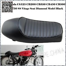 Cafe Racer motorcycle seat Parts CG125 CB 250 350 550 650 Black SEAT GN125 GN250