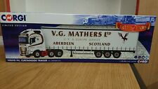 Corgi CC16003 Volvo FH & Curtainside V.G. Mathers Ltd Edition