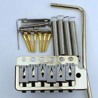 NEW Wilkinson WVP6 TREMOLO BRIDGE Gold + Stainless Steel Saddles From Korea