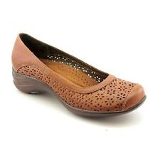 Leather Narrow (AA, N) Flats for Women