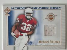 MICHAEL PITTMAN - 2002 Private Stock Authentic Game Used Jersey #118 - Cardinals