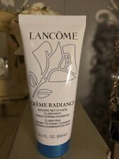 New Lancome Creme Radiance Clarifying Cream to Foam Cleanser 2 FL OZ / 60 ml