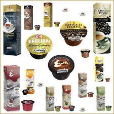 100 CAPSULE DI CAFFE' CAFFITALY ECAFFE' CHICCO D'ORO CAGLIARI GUSTI A SCELTA