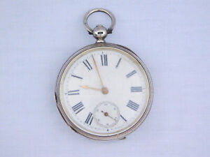 Rare Antique c1883 Waltham Watch Co Solid Silver Case Full Hunter Pocket Watch