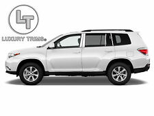Toyota Highlander Stainless Chrome Pillar Posts by Luxury Trims 2008-2013 (8pcs)
