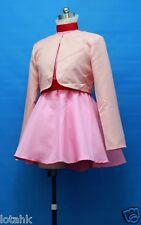 Creamy Mami Magic Angel Pink dress Cosplay Costume Custom Made <lotahk>