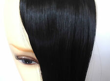 Clip-In Straight / Side Parting Fringe Hairpiece Hair Extension MORE COLOURS