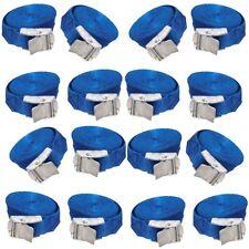 24 x bleu Cam Boucle Tie Down Cargo cil Sangles 2.5 m x 25 mm/résistant aux intempéries