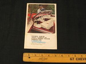 1966 Cadillac Car Accessories Dealer Sales Brochure